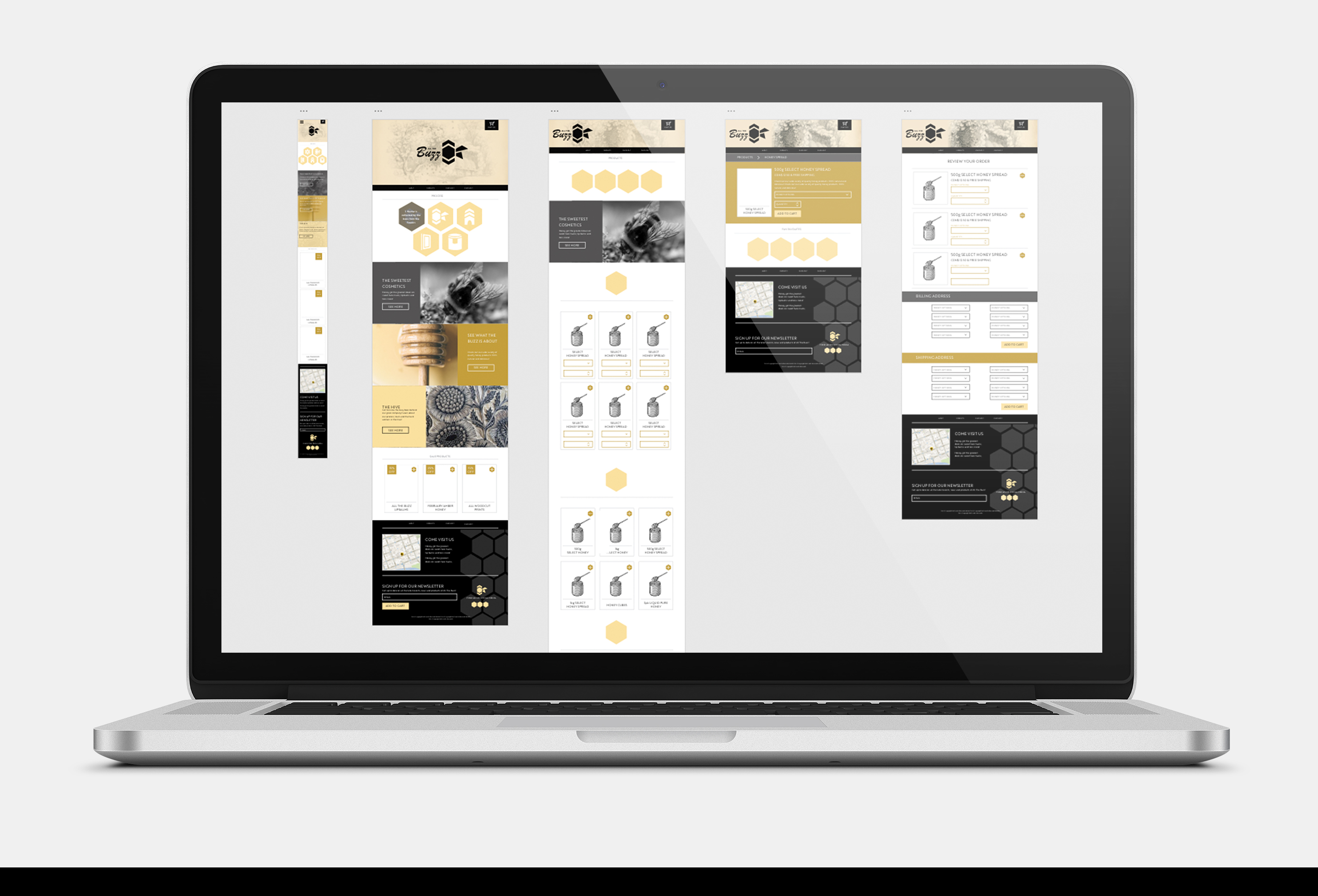 all the buzz web prototyping