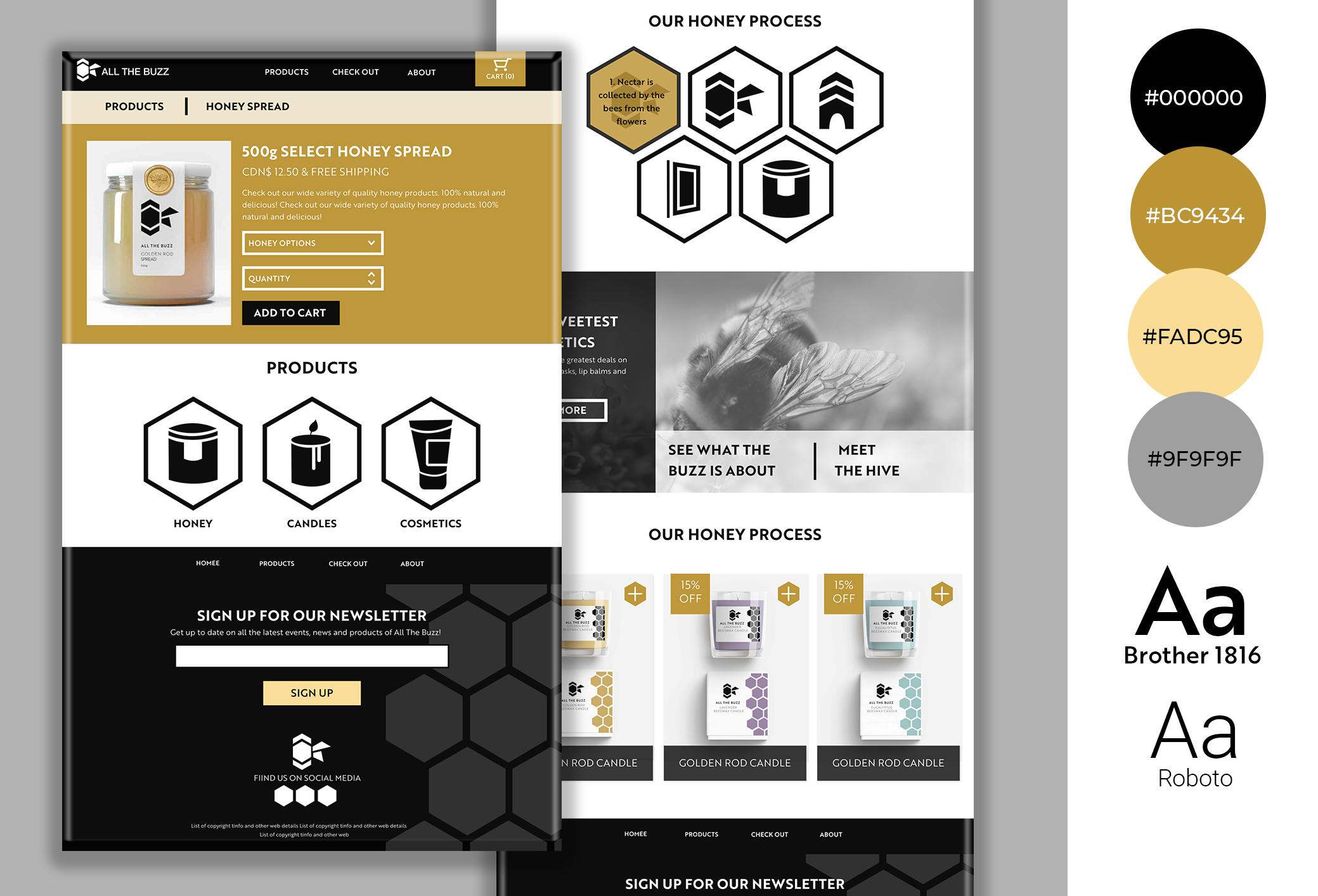 all the buzz revised web designed